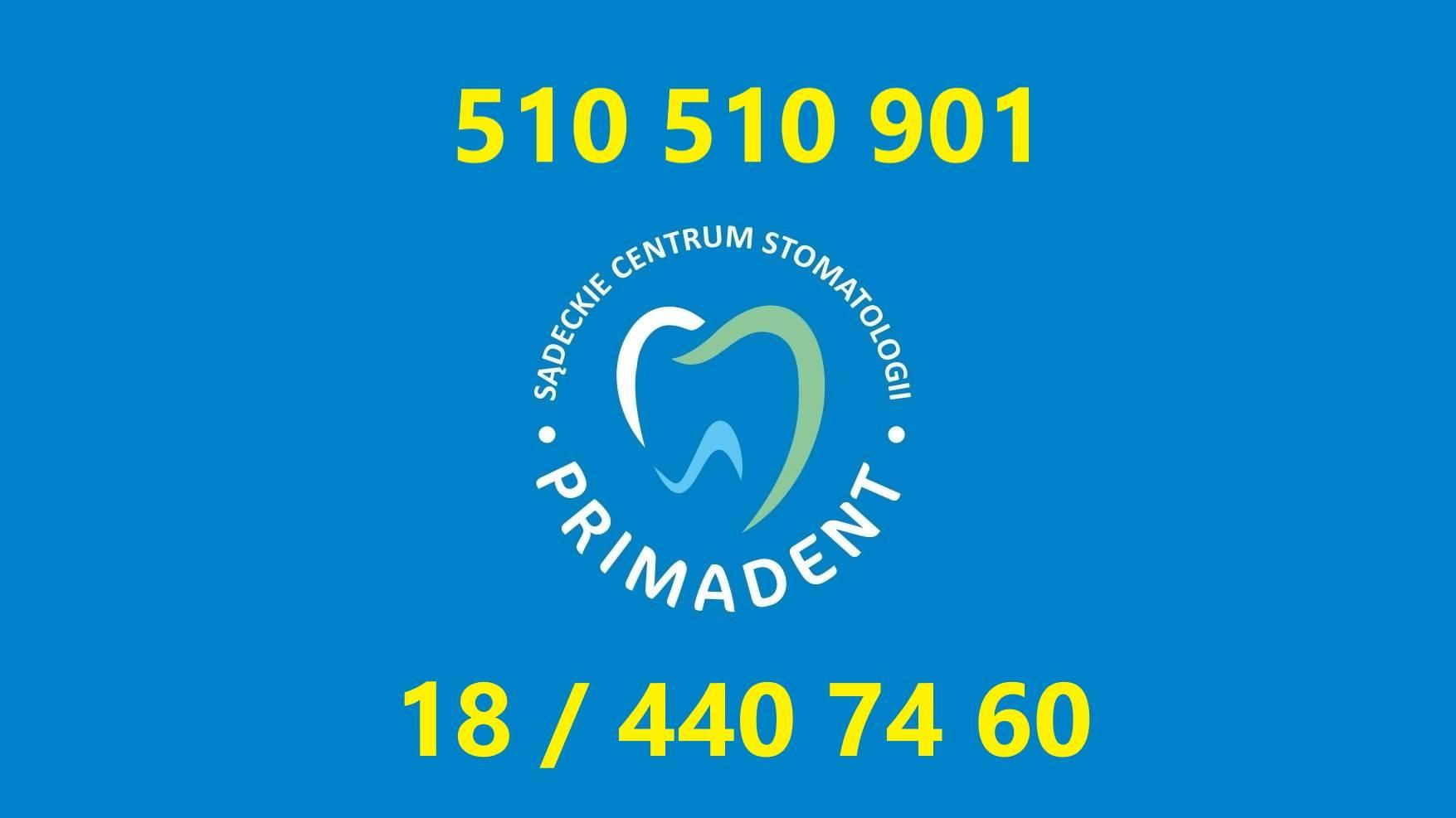 dodatkowe numery telefonów primadent