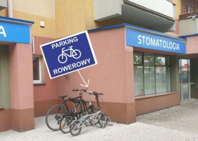 parking rowerowy primadent