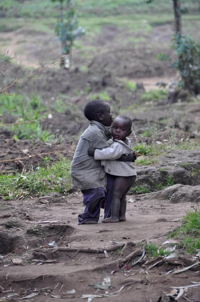 dzieci - Rwanda, Afryka
